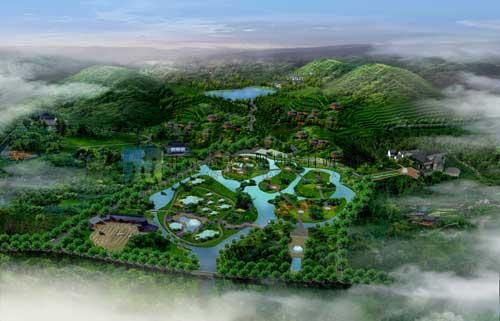 贵州瓮安朱家山健康疗养城总体规划