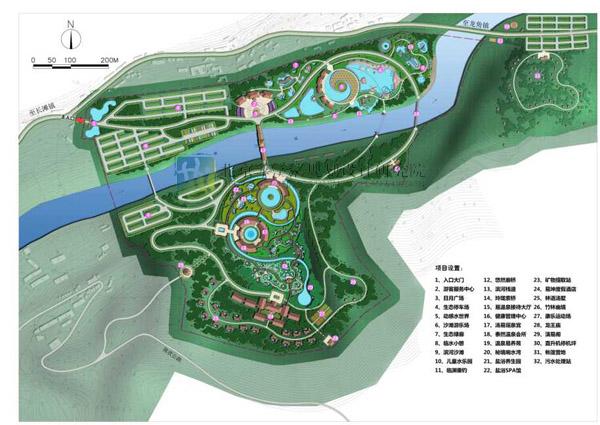 重庆万州长滩温泉——潭獐峡旅游景区规划