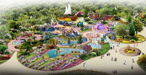 自然游园设计平面图