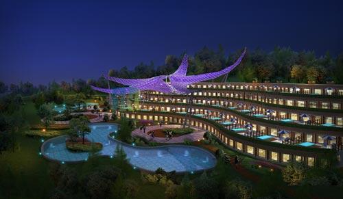 青岛市福海国际旅游新区总体策划暨修建性详细规划