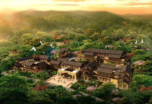 四川省天全县聚龙岗生态旅游区总体规划